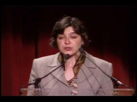 1998 Goldman Environmental Prize Ceremony: Anna Giordano