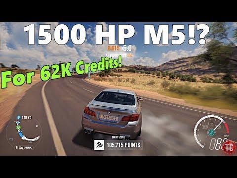 Forza Horizon 3: 62,000 Credit, 1500+ HP BMW M5!? Auction House Drift