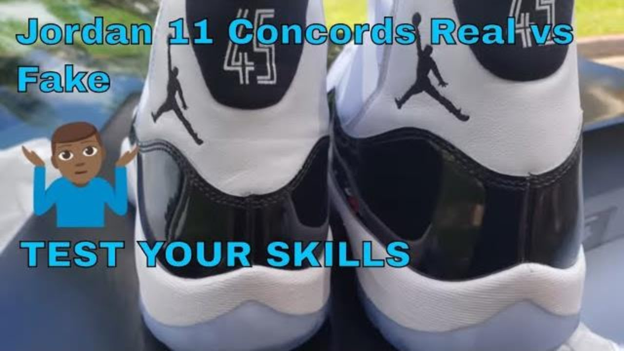 purchase cheap 64724 80a62 Jordan 11 Concords Real versus Fake