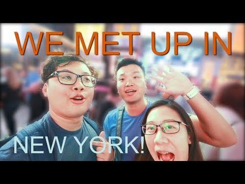🤙🏿 WE MET UP IN NEW YORK! | One day tour in Manhattan | Jaspernty