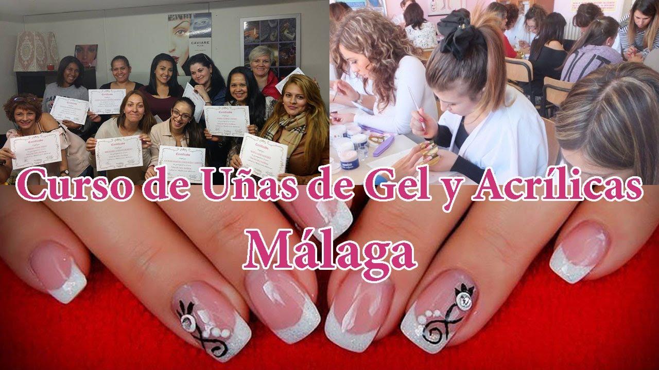 Curso De Uñas Málaga Gel Acrílica Llamanos 600333723
