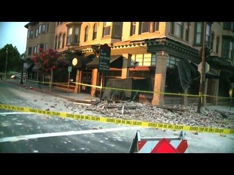 Stärkstes Erdbeben Seit 25 Jahren Im Norden Kaliforniens Youtube