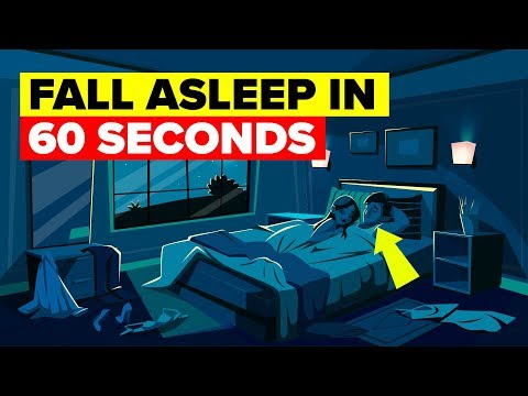 Sleep In Less Than A Minute