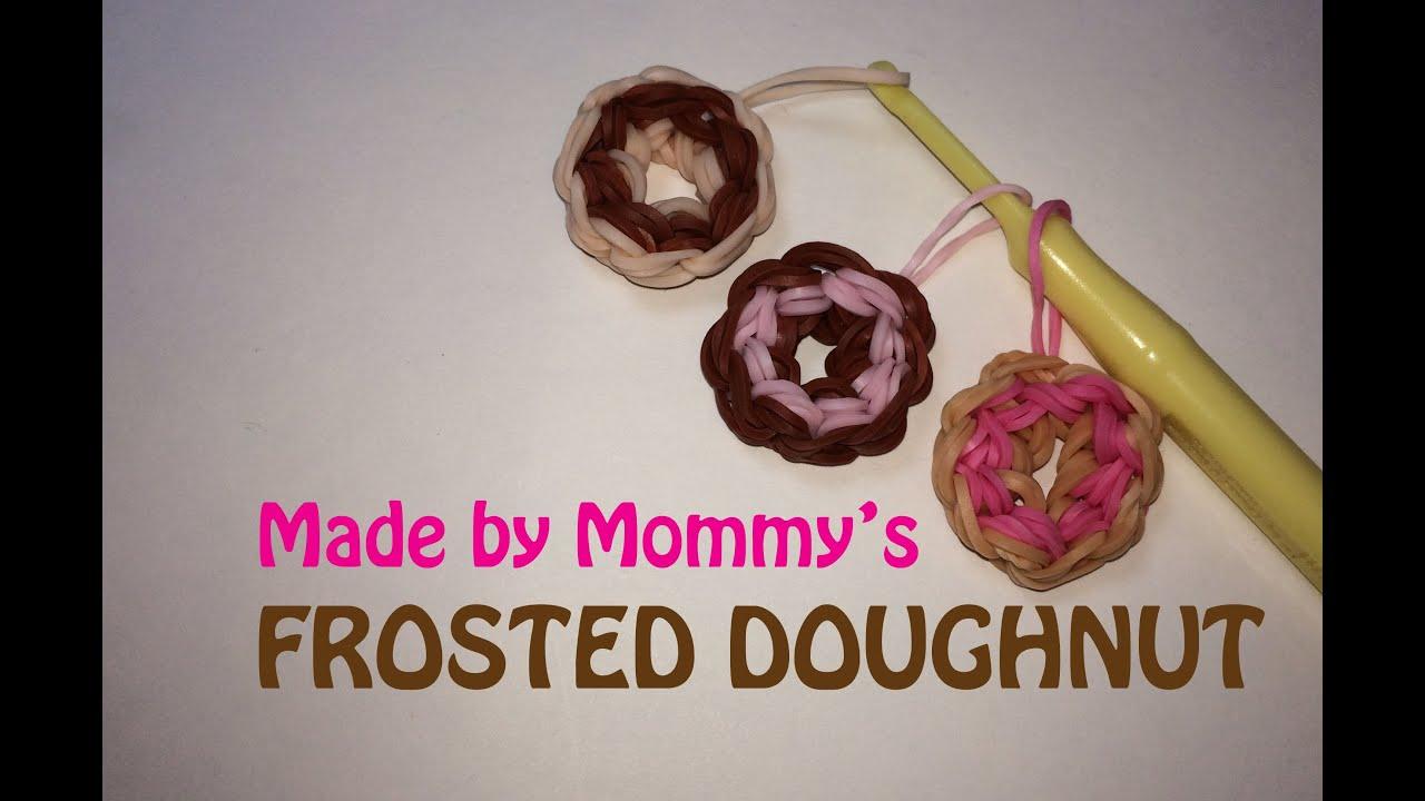 Rainbow Loom Frosted Doughnut Charm Youtube