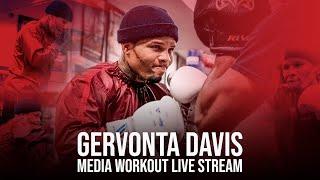Gervonta Davis media workout