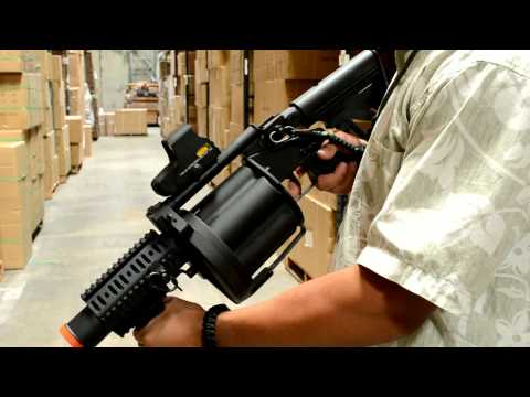 Airsoft Megastore Review! ICS-GLM Grenade Launcher Product Review