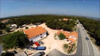 Camp Krka Drone Aerial Video From 2015.
