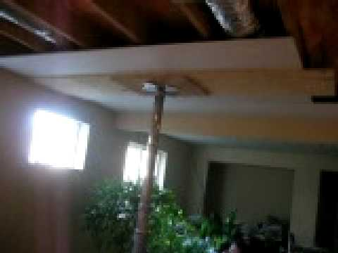 Hanging Drywall On Ceiling Alone How Cool Is This Youtube