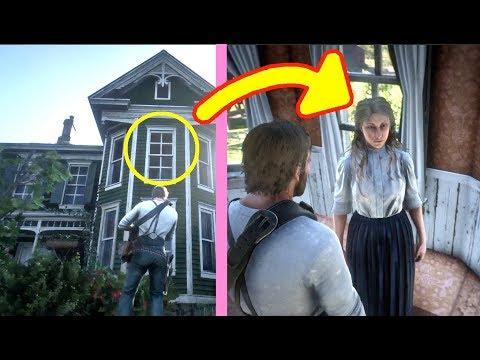 Meet Emerald Ranch Girl in Red Dead Redemption 2 (RDR2): Enter Miriam Wegner Room (Mystery Girl) thumbnail