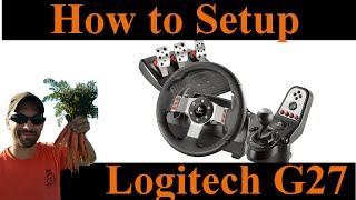 How to setup the Logitech G27 for Farming Simulator 2015