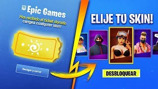 HOW TO UNLOCK SKINS FOR FREE IN FORTNITE 2019!
