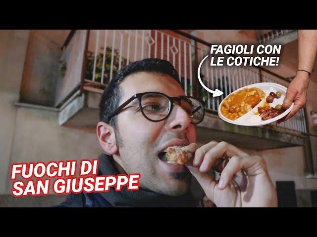 SI SCIOGLIE IN BOCCA! - Festa di San Giuseppe a Itri (LT) 2019 - Vlog #07