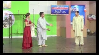 Best of Zafri Khan and lftikhar Thakur stage drama full comedy clip 2019