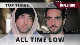 Top Three with All Time Low