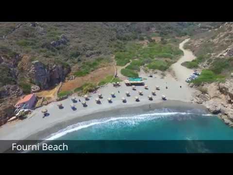 Kythira island - best beaches (Top 8 beaches by drone camera)
