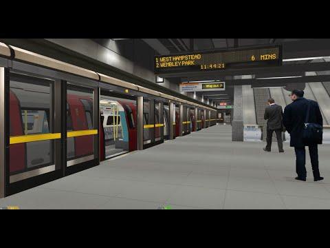 Openbve Jubilee Line Phase 3 - Approaching Bermondsey Station (No Crawling)