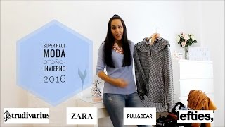 super HAUL moda otoño-invierno 2016 (Zara, Stradivarius, Lefties...)(, 2016-11-13T17:00:01.000Z)