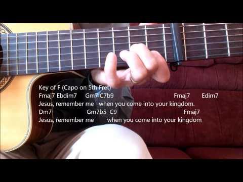 Catholic Hymn Guitar Solo - Jesus Remember Me
