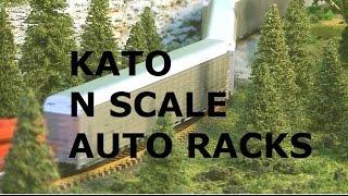 N SCALE KATO CANADIAN NATIONAL ALUMINUM AUTORACK
