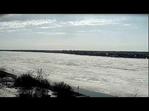 Ледоход-2020: прямая трансляция реки Томи