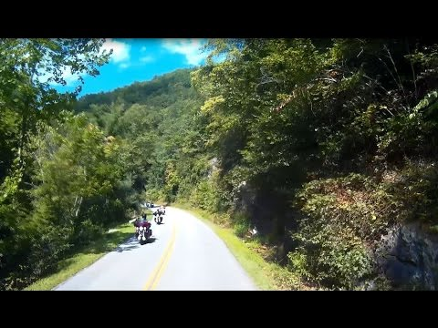 Smoky Mountain River Road Amazing Scenic Drive in RV Motorohome Dashcam