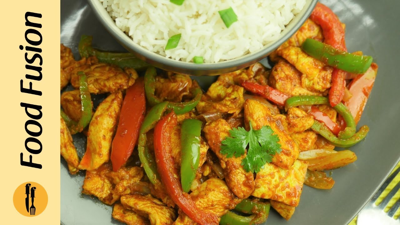 Chicken Jalfrezi Recipe By Food Fusion Youtube
