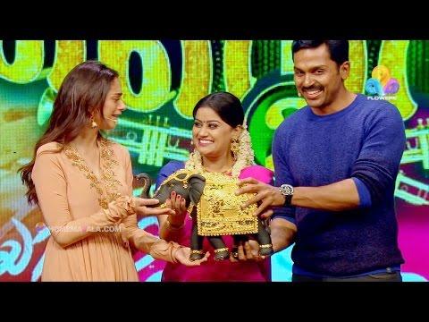 Comedy Super Nite - 2 with Karthi & Aditi Rao │Flowers│CSN# 198