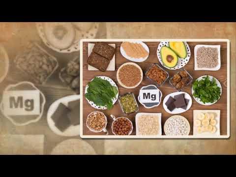แร่ธาตุสารอาหารที่สำคัญของร่างกาย