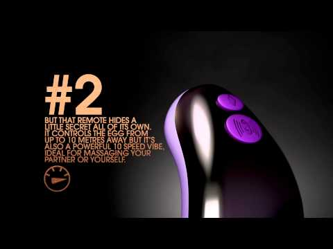 Couples Remote Control Love Egg by Ann Summers
