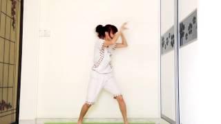 HaiiiI!!!~ Let's do some morning exercise! OvO'' -sleepy me doing t...