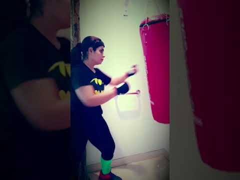 kickboxing training for weight loss | Fitness With Q