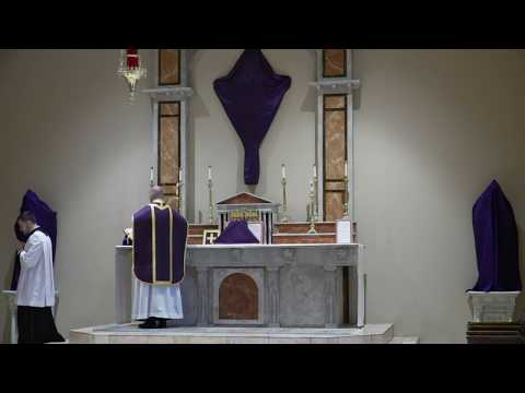 Holy Mass of Passion Monday @ St. Joan of Arc