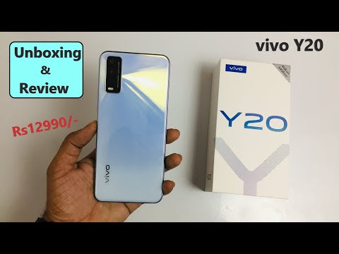 Vivo Y20 Unboxing and Review Full phone Specifications Price 12999/-