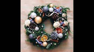 Новогодние венки. Christmas wreaths