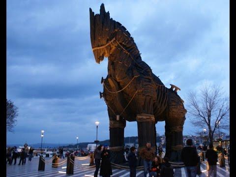 Canakkale çanakkale Dardanele Turcja Turkey Koń Trojański