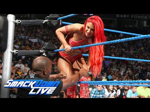 How did Eva Marie escape an Irish Lass Kicking by Becky Lynch?: SmackDown Live, Aug. 2, 2016