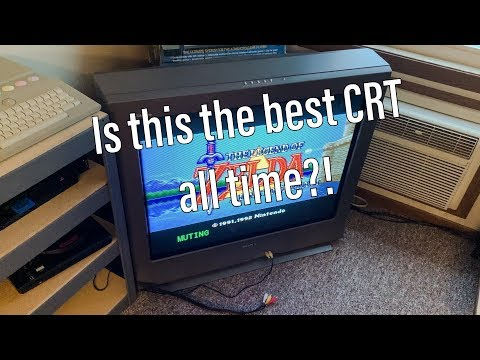 Is This the Best Gaming CRT? (Sony Trinitron 36in)