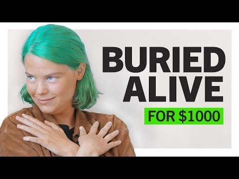Locked in a Coffin for $1000