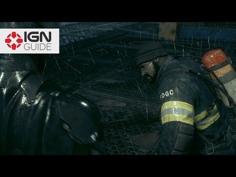 Batman: Arkham Knight - The Line of Duty: Bleake Island Locations