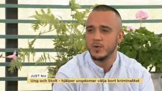 Ung och Stolt hjälper ungdomar att välja bort kriminalitet - Nyhetsmorgon (TV4)