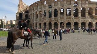 Policías y ejército en las calles blindan Roma a la espera de los mandatarios de la UE thumbnail