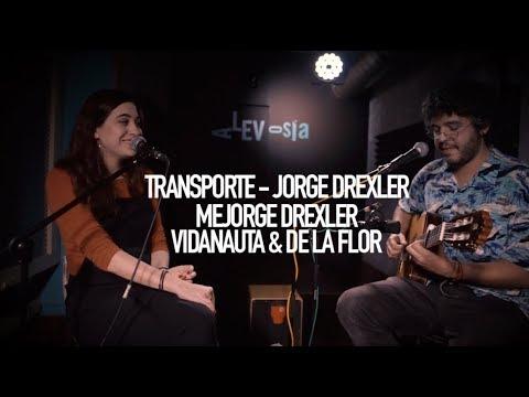 #TEPARATRES 8 - MEJORGE DREXLER - Maria de la Flor & Gabriel Vidanauta - Transporte - Jorge Drexler