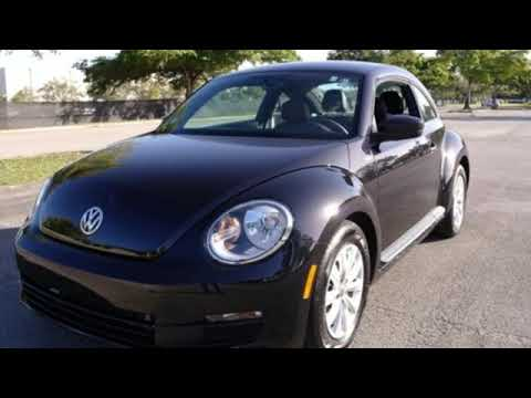 Certified 2016 Volkswagen Beetle Coupe Miami FL Ft-Lauderdale, FL #72994