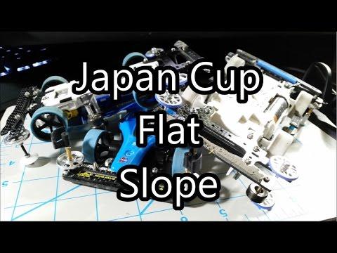 【ミニ四駆】Tamiya Mini 4WD Racing:  2016 Japan Cup Flat Slope