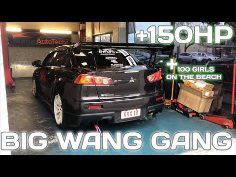 How to install Big wing / spoiler On Mitsubishi Lancer Evolution X Evo X
