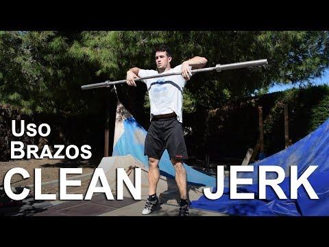 Consejos halterofilia #2: uso de brazos en clean y jerk