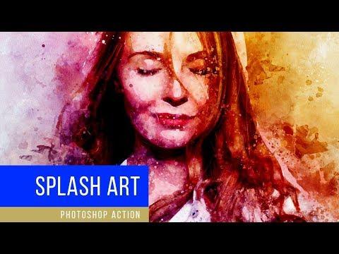 Splash Art - Photoshop Action Tutorial