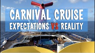 Expectations vs Reality - Carnival Cruise - Sunday Sofatime