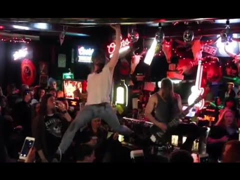 Watch Heck Destroy The Kerrang! Awards Nominations Party!