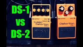 Boss DS-1 Distortion vs Boss DS-2 TURBO Distortion Shootout